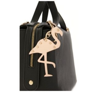 New, Metallic Flamingo Keychain